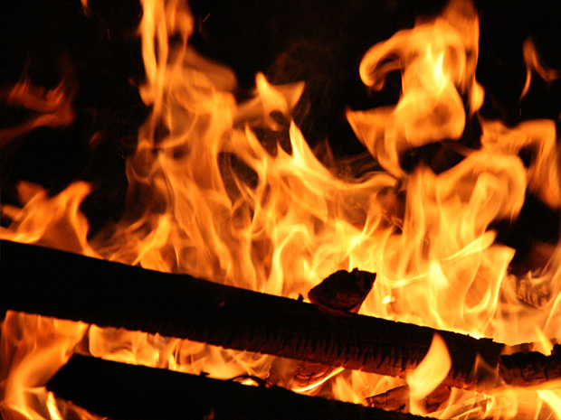 Hamburg Osterfeuer